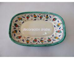 bandeja cerámica árabe andaluza Pottery Techniques, Pattern Art, Ceramic Art, Porcelain, Clay, Hand Painted, Ceramics, Sculpture, Tableware