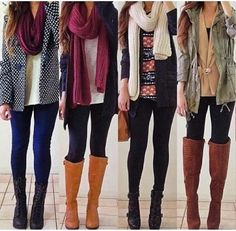 Winter must have outfits