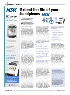 Extend the life of your handpieces, The Probe, April 2015 The Life, Investing, Conditioner, Articles, The Unit, Personal Care, Personal Hygiene