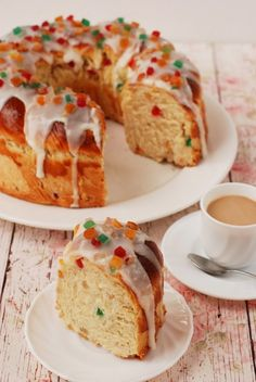 Gyümölcsös húsvéti kalács recept - Kifőztük, online gasztromagazin Krispie Treats, Rice Krispies, Hungarian Recipes, French Toast, Food And Drink, Meals, Breakfast, Pastries, Foods
