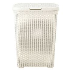 Slim-Faux-Rattan-Laundry-Basket - from Lakeland