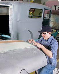 Career Facts for Collision Repair Technician - Career Facts - Collision Repair Program - Transportation Maintenance Technologies Department Auto Collision Repair, Auto Body Repair, West Coast Customs, The Body Shop, Custom Cars, Transportation, Career, Technology, Tech