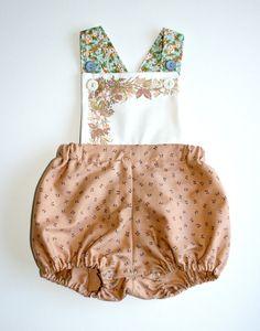 girls vintage sunsuit. via Etsy
