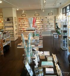 Around The Sound - Paper Delights Seattle stationery store front view