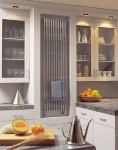 Marvelous Bisque Kitchen Radiator   We Love This One!