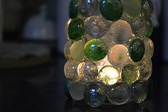 {mosaic tea light holder}  This is so cute & easy.  The perfect gift.
