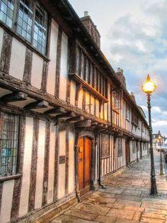 15th c Alms House,Stratford on Avon