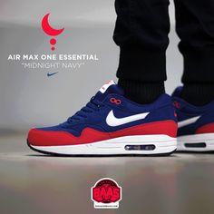 size 40 ed0f4 87d59  nike  air  airmax  airmaxone  airmax1  nikemidnight  nikenavy  sneakerbaas