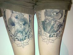 thigh tattoo 34 Unique Tattoo Ideas You Should Check Right Now