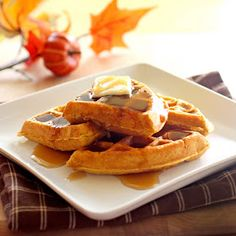 The Girl Who Ate Everything: Pumpkin Waffles