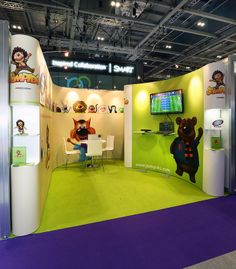Exhibition Stand for Jumpido at BETT 2014