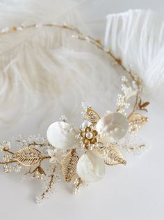 Bridal hairpiece | Bridal accessory, style- Diana
