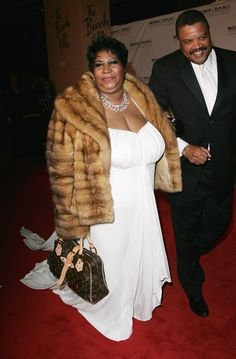 Ms. Aretha Franklin and date