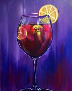 Paint Nite: Discover a new night out and paint and sip wine with friends Wine Painting, Family Painting, Summer Painting, Acrylic Painting Canvas, Oil Painting For Beginners, Beginner Painting, Wine And Paint Night, Wine And Canvas, Wine Art