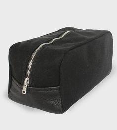 Black Canvas Dopp Kit by Ian James New York on Scoutmob Shoppe
