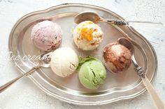 アイスクリームいろいろ♪|We love 玄米 マクロビオティック雑穀料理 フォトライフ