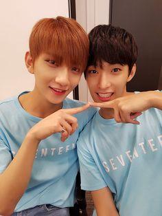 세븐틴(SEVENTEEN) (@pledis_17) | Twitter: Joshua + Dokyeom