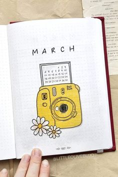 Bullet Journal Monthly Cover Ideas for March 2020 - Crazy Laura Bullet Journal monthly cover page, March cover page, flowers from a gra .Monthly cover of the Bullet Journal, March cover, flowers from a gramophone drawing. March Bullet Journal, Bullet Journal Cover Ideas, Bullet Journal Banner, Bullet Journal Lettering Ideas, Bullet Journal Notebook, Bullet Journal School, Bullet Journal Themes, Art Journal Pages, Journal Ideas