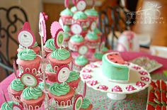 Watermelon 1st Birthday Party   CatchMyParty.com