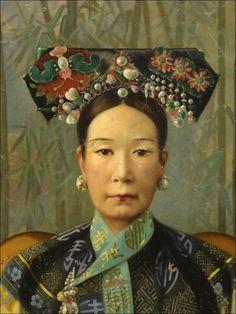 mamasaymamasamamakusa:    Cixi, Empress Dowager- Hubert Vos