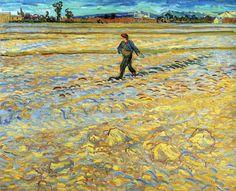 """vincentvangogh-art:  """" Sower, 1888  Vincent van Gogh  """""""