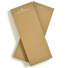 "Market 4.25""x11"" Personalized Kraft Note Pad from Haute Papier"