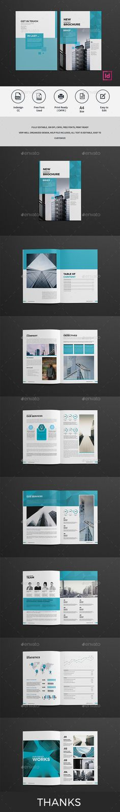 54 best company profile design templates images on pinterest in 2018