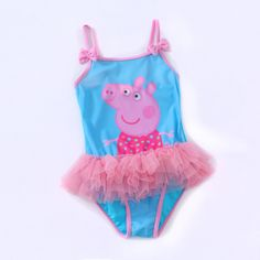 Peppa Pig Tutu Swimsuit / Aaliyah's Clothing Boutique