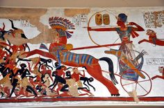 Ramses II and the presentation to the pharaoh of the produce of Nubia and the lands of tropical Africa