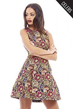 AX Paris Womens Metallic Floral Skater Dress Sleeveless S... https://www.amazon.co.uk/dp/B013GL3U8S/ref=cm_sw_r_pi_dp_x_8YFDybQV6FWKX