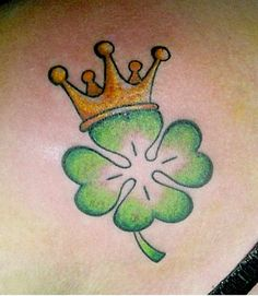 38 Lucky Celtic Shamrock Tattoos, Celtic Clover, Irish Clover (32)