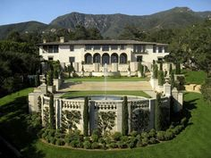 exotic mansions and islands for sale | Montecito's most significant estate, has been listed for sale ...