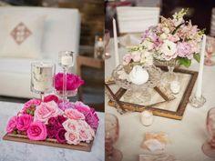 Elegante Tischdekoration Geburtstag, Zwei Ideen Für Schicke Tischdekoration  Mit Blumen, Kerzen Und Andere Dekoelemente