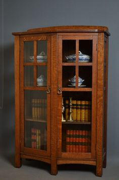 The stunning Ruskin Kitchen display cabinet is attractive and ...
