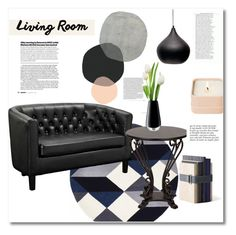 """""""Home decor"""" by vkmd ❤ liked on Polyvore featuring interior, interiors, interior design, home, home decor, interior decorating, Dot & Bo, Menu, LSA International and Henri Bendel"""