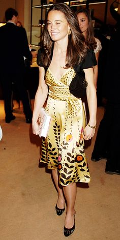 Pippa Middleton's Memorable Style Moments - May 14, 2007 from #InStyle