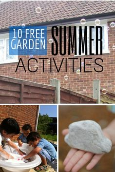 Lots of Fun and free garden activities with kids from @Anna - In The Playroom