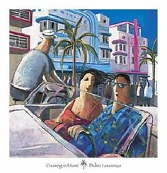 """Cruising in Miami"" by Didier Lourenco"
