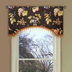 fruit kitchen curtains cost to reface cabinets window s curtain for privacy and decoration interior fabric design valance