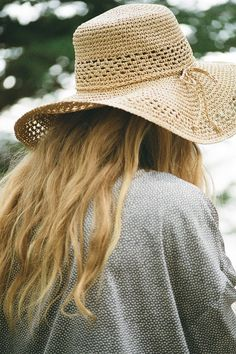 Kimchi Blue Open Weave Floppy Straw Hat - Urban Outfitters