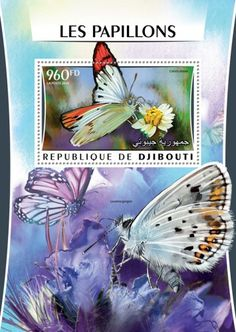 DJB16320b Butterflies (Colotis danae) Butterflies, Stamps, Seals, Butterfly, Stamping, Postage Stamps, Stamp, Caterpillar