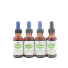 Set de Remedios Herbolarios (Anti-Gripal, Detox, Energía Pura, Relajante…