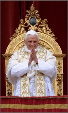Blessings for Pope Emeritus Benedict XVI!