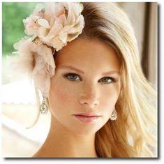 Flowers for beach bride