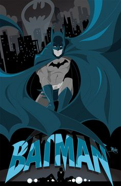 Batman by MikeMahle on @DeviantArt