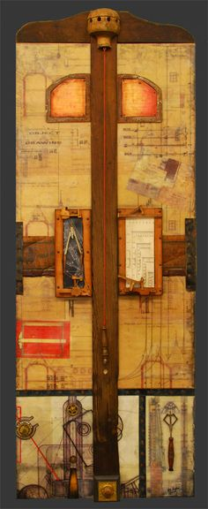 ⌼ Artistic Assemblages ⌼ Mixed Media, Journal, Shadow Box, Small Sculpture & Collage Art - Ray Papka