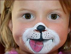 Halloween Face Paintings for Kids