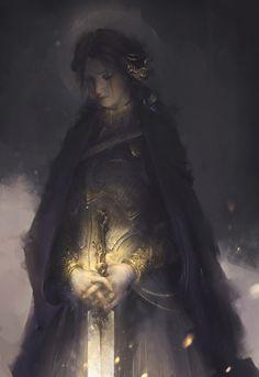 Golden Flower by Le Vuong