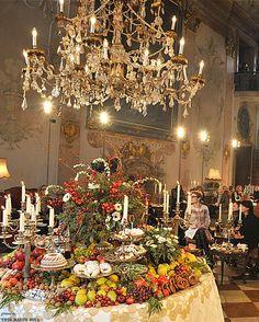 Set of Chanel Salzburg Métiers d'Art Show, Schloss Leopoldskron, Austria