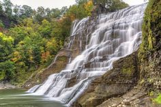 Find waterfalls in every state for sightseeing, swimming, and hiking.